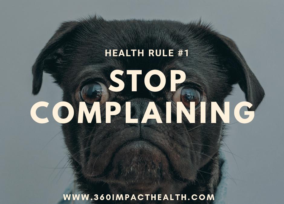 How Complaining Creates Hormone Imbalances