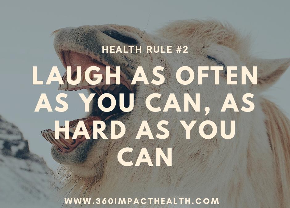 How Laughter Heals Hormones