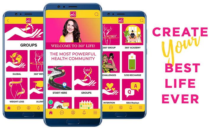 360 life app